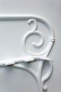 """Мастер-модель """"Лавка"""", художественное литье, садовая мебель, литье чугуна, литейная оснастка"""