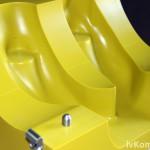 """Элемент стержневого ящика модельного комплекта """"Крышка цилиндра"""", пластик  Raku-tool 1404"""