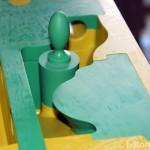 """Стержневой ящик модельного комплекта """"Крышка цилиндра"""", пластик Raku-tool 1404, Ebalta 920 new"""