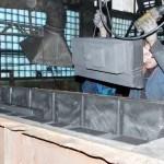 Модель станины, станкостроение, станина для токарных станков, литейная оснастка, модель, литье, машиностроение, производство отливок, чугун, деревянные модели, модельный комплект